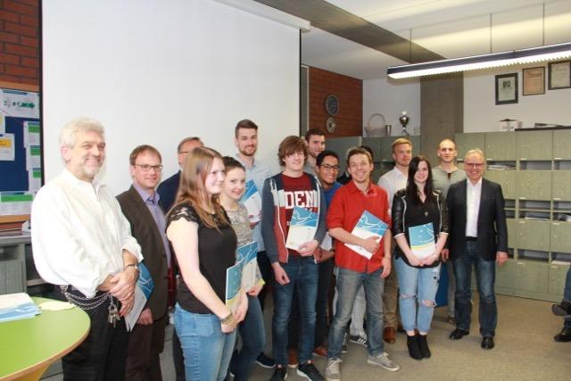 Fast alle Schüler und Lehrer, die vergangenes Jahr im Mai/Oktober am Austauschprogramm teilgenommen haben
